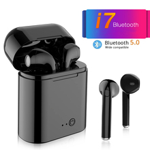 New Mini i7s TWS Wireless Bluetooth Earphone Stereo Earbud Headset With Mic Charging Box For Smart phone Earbuds Earpieces