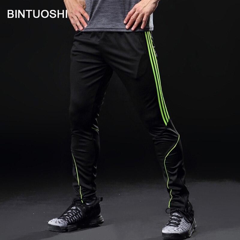 BINTUOSHI Football Football Formation Pantalon Hommes Avec Poche Courir Vélo Sport Pantalon Remise En Forme de Jogging Pantalon De Course