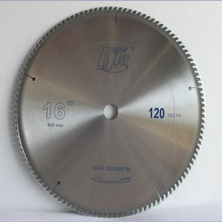 professional quality NF metal cutting 16(400mm)*30/25.4mm*3.5*100/120Z for aluminum copper alloy pipes sawing blades