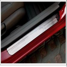 Door Sill Plate, Stainless Protector Strips, Sticker For Civic 2007-2015
