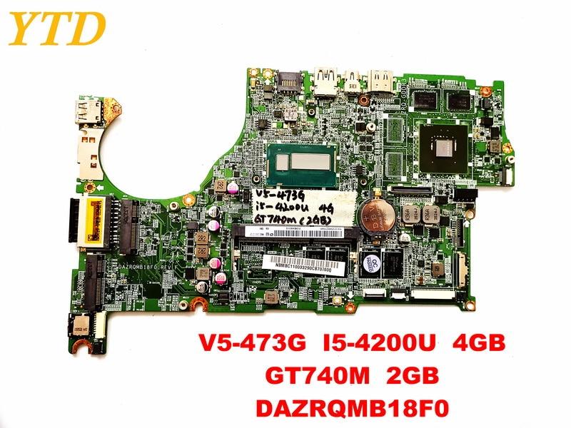 Original for font b ACER b font V5 473G laptop motherboard V5 473G I5 4200U 4GB