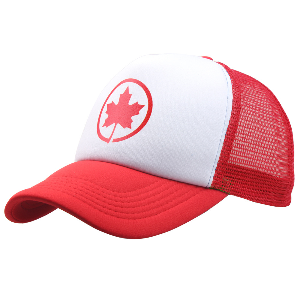 Women Snapback Hats Mesh-Cap Baseball Trucker Canada Bone Gorro Adjustable Sport Chapeu