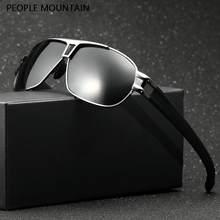 2d7e5cec43 As pessoas Da Liga De Montanha dos homens óculos de Sol Polarizado  Masculino Óculos De Sol Do Vintage Clássicos Eyewears Acessór.