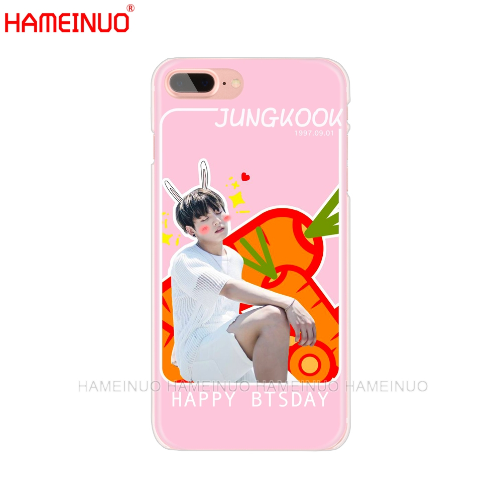 Hameinuo Bts Bangtan Boys Jimin Cell Phone Cover Case For Iphone X 8 7 6 4 4s 5 5s Se 5c 6s Plus Complete In Specifications Phone Bags & Cases Half-wrapped Case