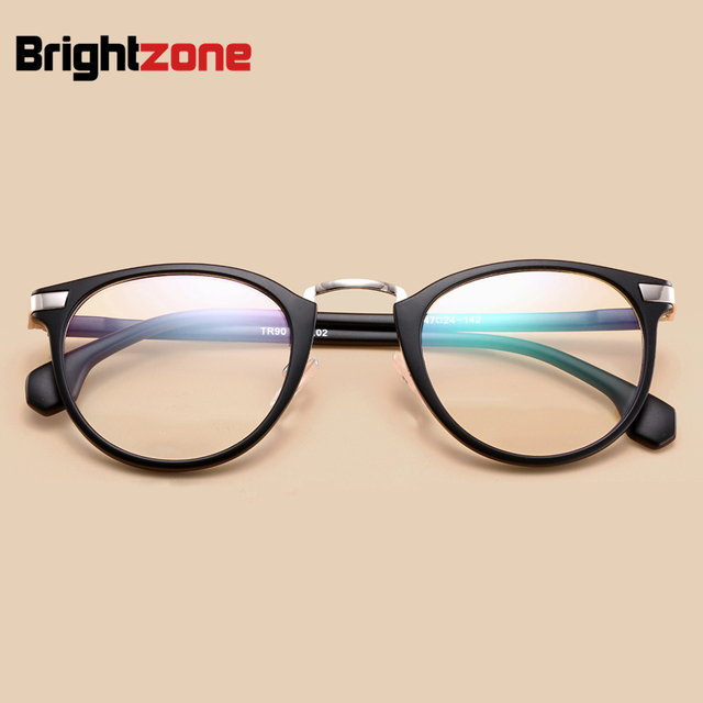 7b6e8bed063 DYvision New Fashion Ultra-light TR90 Round Frame Eyeglasses Women Vintage  Myopia Optical Frame Anti