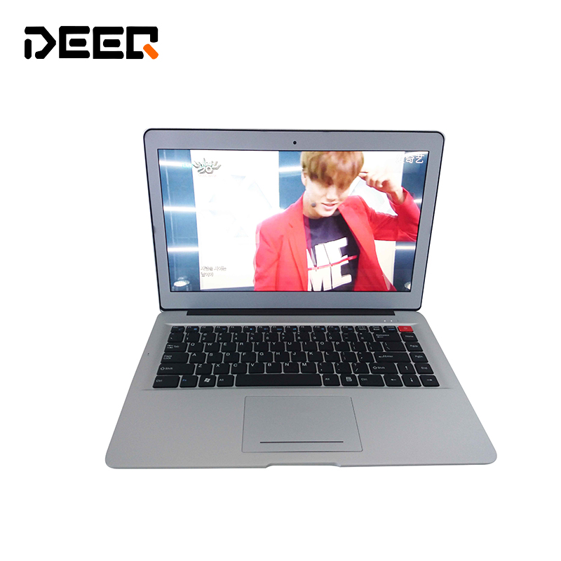 Metal Meterial Windows10 System 1920x1080P Screen Intel I3-5005u 2.10Ghz Portal Laotop With Backlight Keyboard