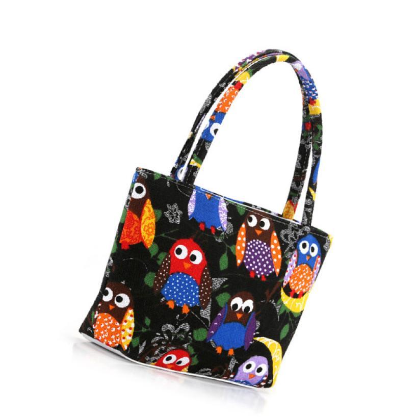 Portable 1 pcs Cosmetic Toiletry Travel Makeup Bag Holder Lovely Owl  Type Handbag Beauty Dropship 1.10