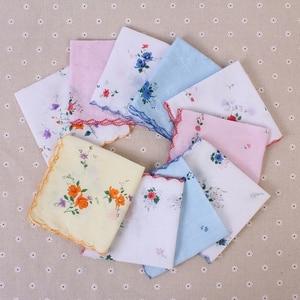 Image 3 - 5Pcs/lot 100% Cotton Chest Towel Plaid Stripe Handkerchiefs Pocket Hanky Handkerchiefs Pocket for Men Wome Business Style