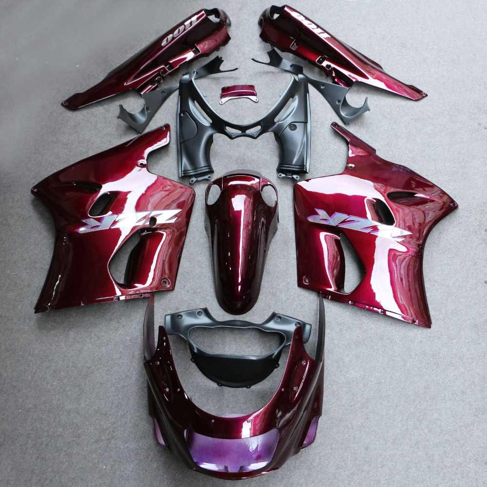 ABS Fairing Bodywork Panel Kit Set Fit for Kawasaki ZX11 ZZR1100 D 1993-2001 94 95 96 97 98 99 Motorcycle