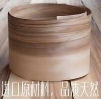 L 2 5Meters Wide 180mm Thickness 0 52mm Natural Sardines Walnut Wood Veneer Speaker Background Wall