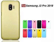 цена на j2 pro Phone Cases Ultra Slim Hard Rubberized Matte Cover Case For Samsung J2 Pro 2018 Cellphone Case new in stock