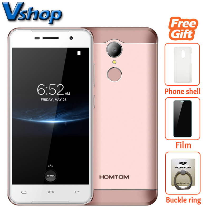 Original HOMTOM HT37 Pro 4G LTE Mobile Phones Android 7.0 3GB+32GB Quad Core Smartphone 8.0MP 720P 5.0 inch Dual SIM Cell Phone