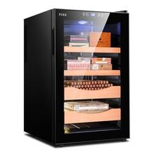 FK-65C электронная сигара, морозильная камера, температура, винный чай, воздушное охлаждение, сигарный шкаф, кулер для сигар, humidor