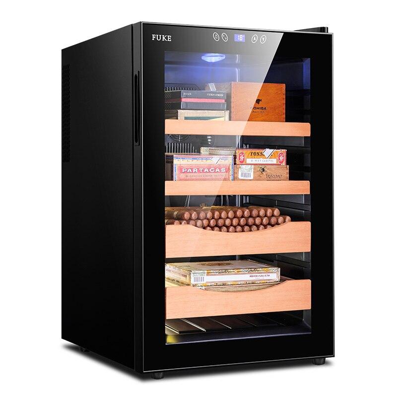 FK-65C sigaro Elettronico congelatore temperatura vino tè di raffreddamento ad aria sigaro mobile cigar di raffreddamento humidor