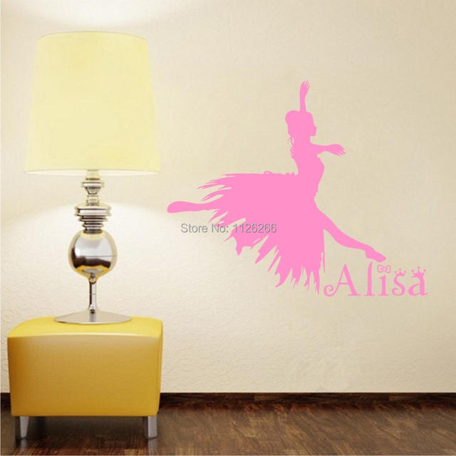Customer Made The Girl Dancing Ballet Wall Decals For Bedroom - How to create your own vinyl stickers at home