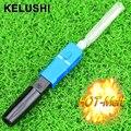 KELUSHI 10 unids Venta Caliente Nueva FTTH SC UPC de Fusión En Caliente las juntas de Soldadura conjunta Conector SC De Fibra Óptica Fusionadora De Fibra conectores