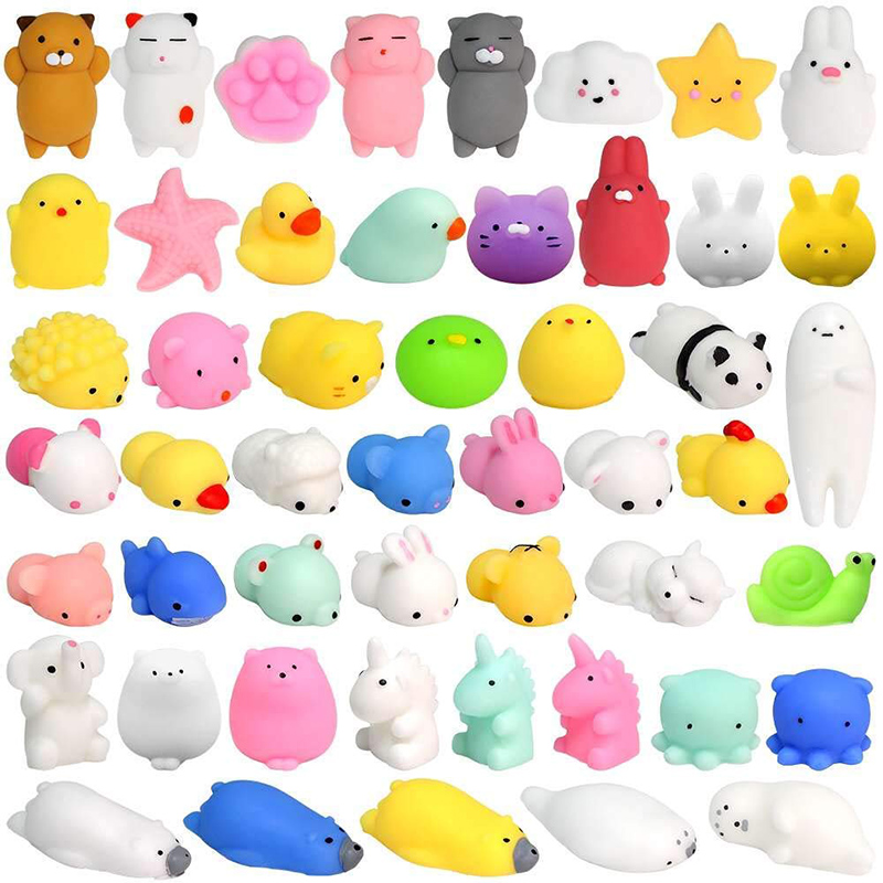 New Mini Cute Cat Squishy Antistress Ball Creative Mochi Rising Abreact Soft Squeeze Toy Stress Relief Funny Kids Gift Toy