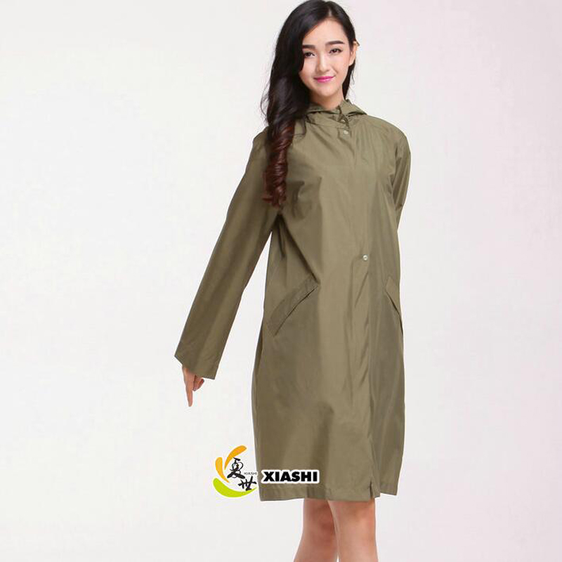 Aliexpress.com : Buy WINSTBROK Rain Jacket Womens 2017 Ribbon ...