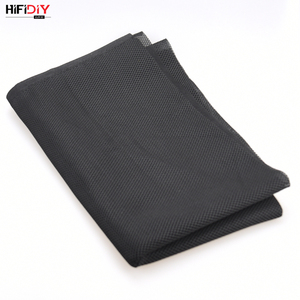 Image 2 - HIFIDIY LIVE Speaker Grill Cloth Stereo Fabric Gille Mesh Cloth Speaker Protective Accessories  Black 1.5*0.5