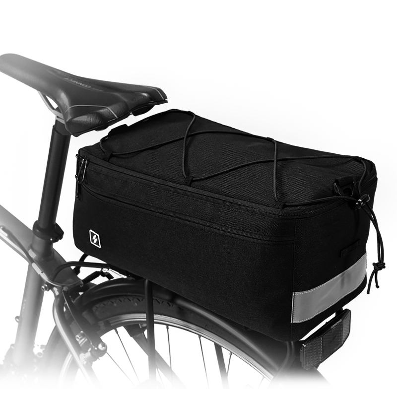 Bike Bicycle Thermal Insulated Trunk Bag Cooler Lunch Bag Pannier Pack