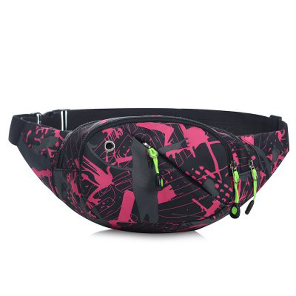 pochete bum Bags Leather Fanny Pack Waist Bag heuptas wandelen Unisex Casual Camoufla Waist Pack Bicycle Belt Bag 2018 new gift
