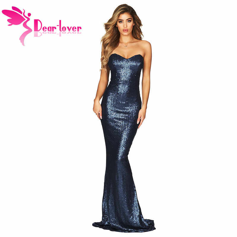 791666a6cff17 Detail Feedback Questions about SEBOWEL Sexy Sequin Strapless Party ...