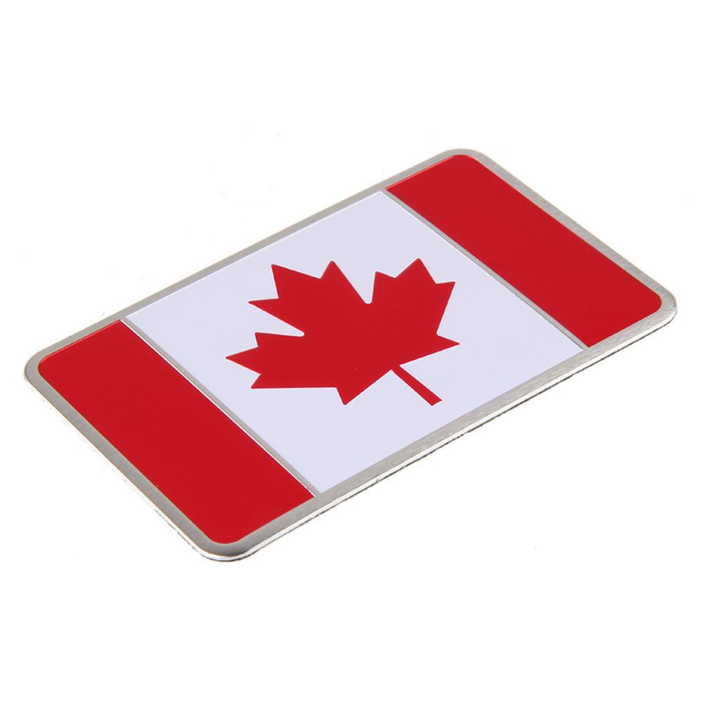 US $2 74 45% OFF|Car Aluminum Sticker Auto Canada Flag Emblem Badge Decal  for Ford RAM Toyota Chevy GMC Dodge Hyundai Nissan Mazda 3 Chevrolet-in Car
