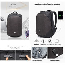 Multifunction Anti-theft 15.6 inch Laptop computer backpack 15inch School Teenager Backpack Business Bags with USB Charging