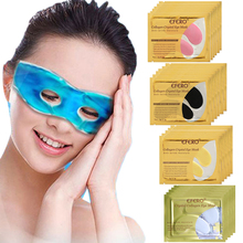 Cold Sleeping Eye Mask Relieve Eye Fatigue Cool Eye Patches Anti Wrinkle Dark Circle Puffiness Collagen Mask for the Eyes Care