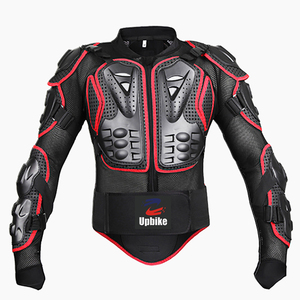 Image 2 - upbike Motorcycle Full body armor Protection jackets Motocross racing clothing suit Moto Riding protectors turtle Jackets S 4XL