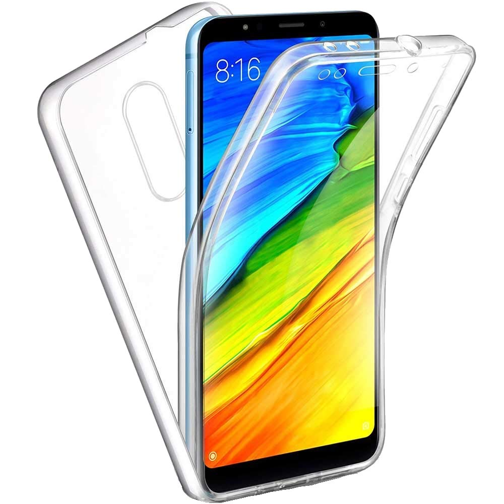 Luxus 360 Fall Volle Abdeckung für <font><b>Xiaomi</b></font> Redmi K20 6A 7A 8A <font><b>Note</b></font> <font><b>5</b></font> 6 7 8 Pro Hybrid Schlank fit Shell Transparent Phone <font><b>Cases</b></font> Abdeckung image