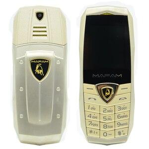 Image 5 - MAFAM A18 ロシア語アラビア語スペインフランス振動高級金属ボディ車のロゴデュアル sim gsm 中国の携帯電話在庫