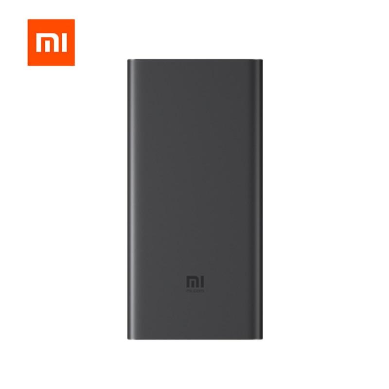 Xiao mi mi 10000 mAh Qi batterie externe sans fil PLM11ZM chargeur rapide 10000 mAh Powerbank pour iPhone X XR XS MAX 8 Plus Samsung Huawei