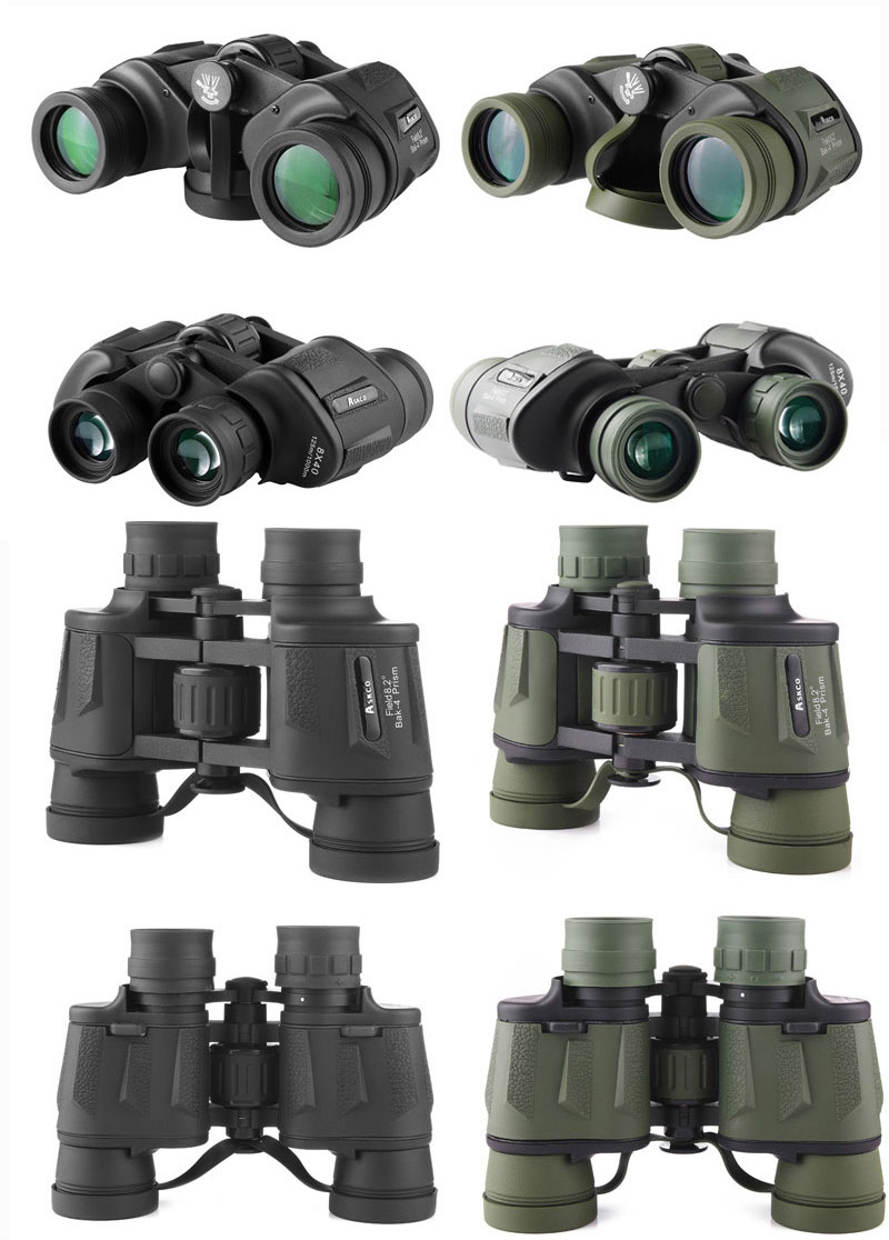 dwaterproof água portátil binóculos telescópio caça visão
