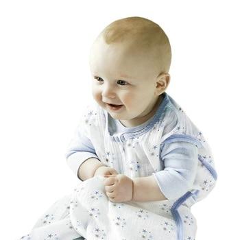 100% Muslin Cotton Baby Thin Sleeping Bag For Summer Baby Sleeveless Sleepsacks Saco De Dormir Para Bebe Sacks KF484