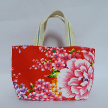Tote Shopping Bag Purse Taiwan Hakka Design Cotton Handmade Bag Travel NEW 100% Handmade Tote Bag (B801S)