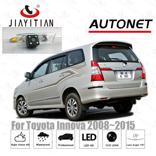 Group All New Kijang Innova Camry 2019 Interior Jiayitian Car Camera For Toyota 2008 2009 2010 2011 2012 2013 2014 2015 Ccd Night Vision License Plate Reverse Cam