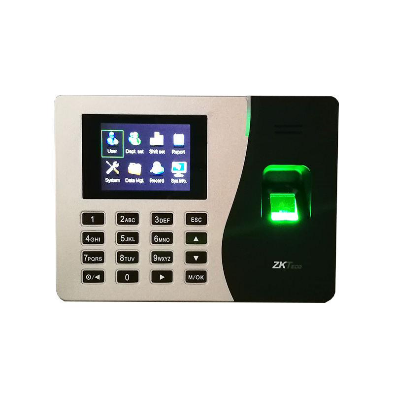 Build In Battery SSR Biometric Fingerprint Time Clock Recorder Attendance Employee Electronic Finger And Card Time Attendance