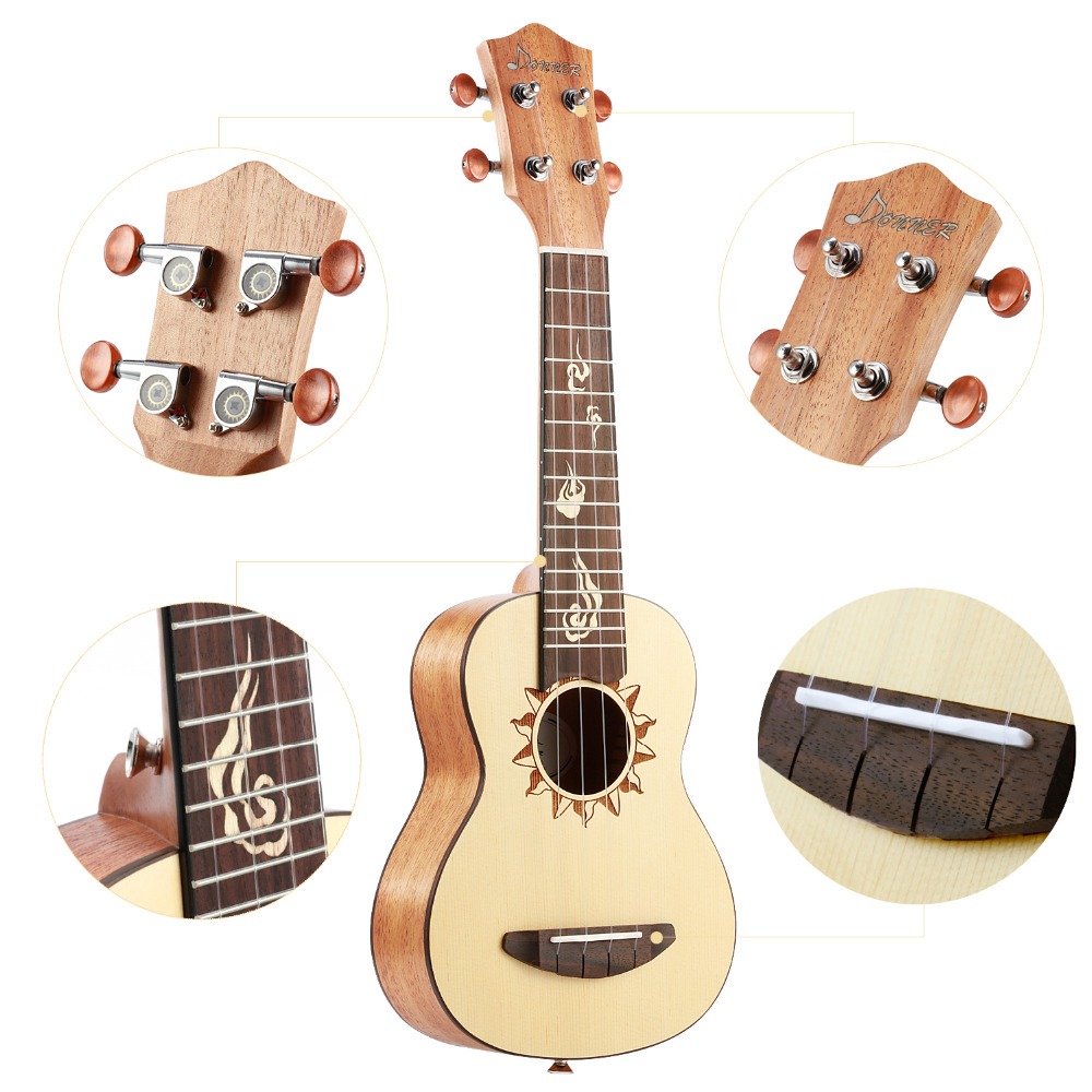 Musical Instruments Fretted Ukulele Fretboard Fingerboard For 21 Inch Soprano Hawaii Guitar Parts Replacement 12 Fret Rosewood Pack Of 4 Products Are Sold Without Limitations Sports & Entertainment