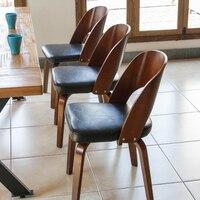 Горячая Мода 100% деревянный стул в стиле кофе барный стул японский стиль обеденный стул мебель для гостиной кожаные хлопковые подушки