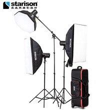 flash light photo Photographic equipment 250w flash lamp clothes portraitist octagonal softbox photography light set CP