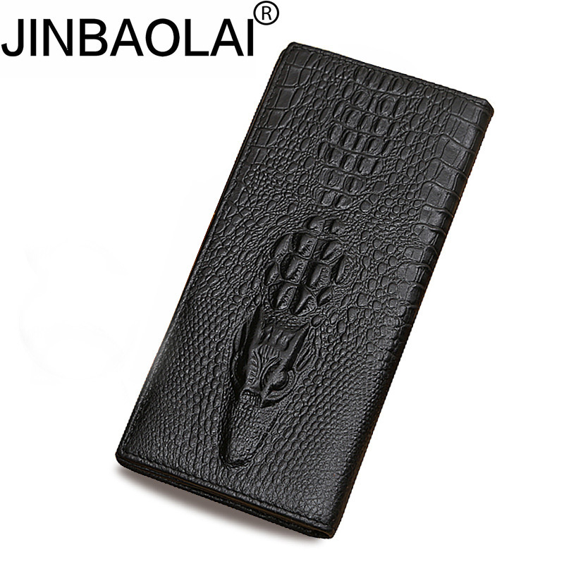 Luxury Brand  Designer Genuine Leather High Quality Men Long Wallet Card Coin Purse Vintage Male Carteira Wallet Photo Pocket ms brand men wallets dollar price purse genuine leather wallet card holder designer vintage wallet high quality tw1602 3
