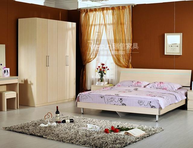 Promocional juegos de dormitorio muebles Liu jintao combinación de ...