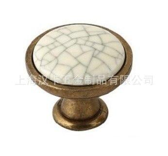 Crack Ceramic Furniture Cabinet Handle