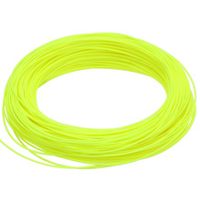 WF 1 2 3 4 5 6 7 8 9WT Fly Fishing Line 100FT Weight Forward Floating Nylon Yellow Moss green Blue Orange Fly Line