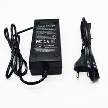 Carregador biométrico de 36 v 2a e 42 v 2a, acessório de carregamento para baterias de lítio li-ion li-poly 100-240 vac carregador para bicicleta elétrica série 10 36 v