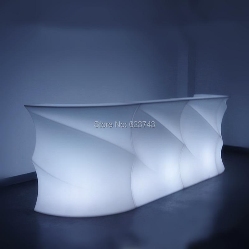 все цены на Bar Pub Fashion LED illuminated furniture rechargeable remote control BREAK Line LED Cocktail Bar table counter lighted smartbar