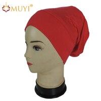 ผสมสีหลอดฮิญาบUnderscarfหมวกมุสลิมภายในผ้าโพกหัวB Andanaนินจากิริยาแฟชั่นขายส่ง14ชิ้น/แพ็คขายปลีกUsd 4.99...