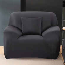 Pure color Stretch Sofa Covers Spandex Sofa cover wrap all inclusive elastic seat bench couch Cover
