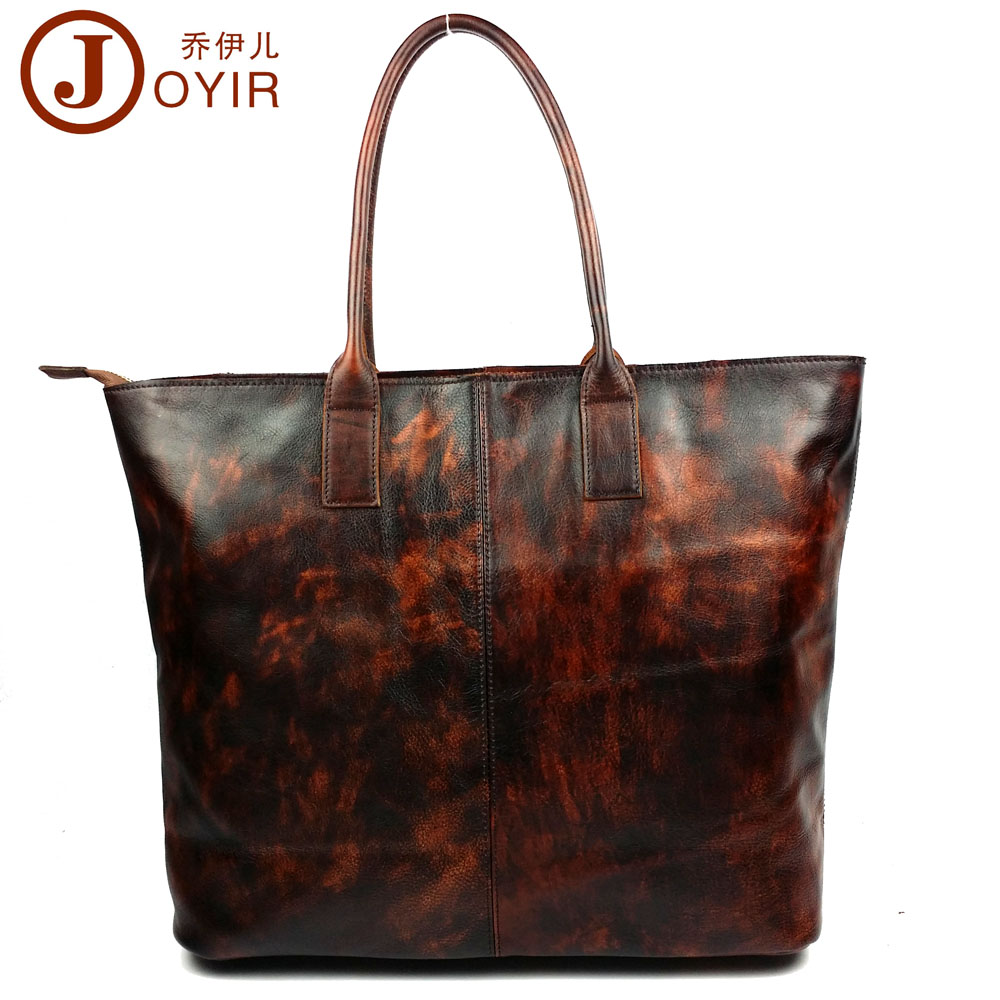 2017 Vintage Large Women Genuine Leather Luxury Designer Handbags High Quality Tote Bag Shoulder Bag Bolsa Feminina Ladies 6172